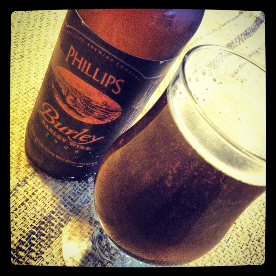 Burley Barley Wine — Phillips Brewing Co.