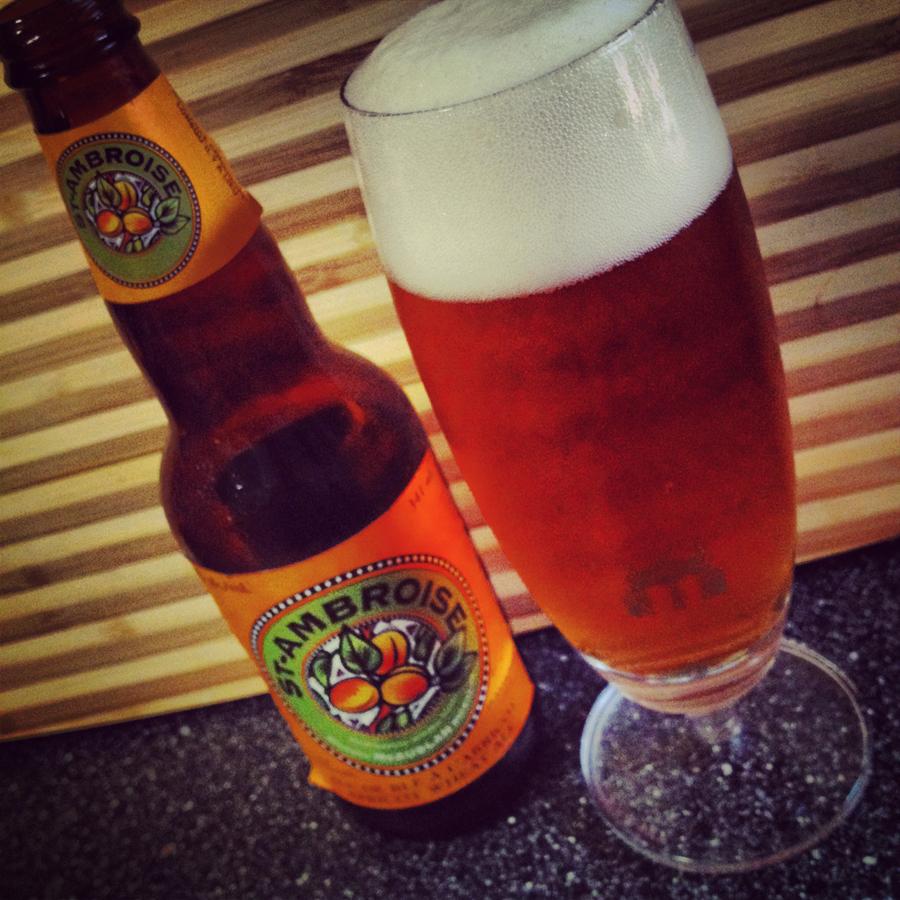 St Ambroise Apricot Wheat Ale — McAuslan Brewing Inc