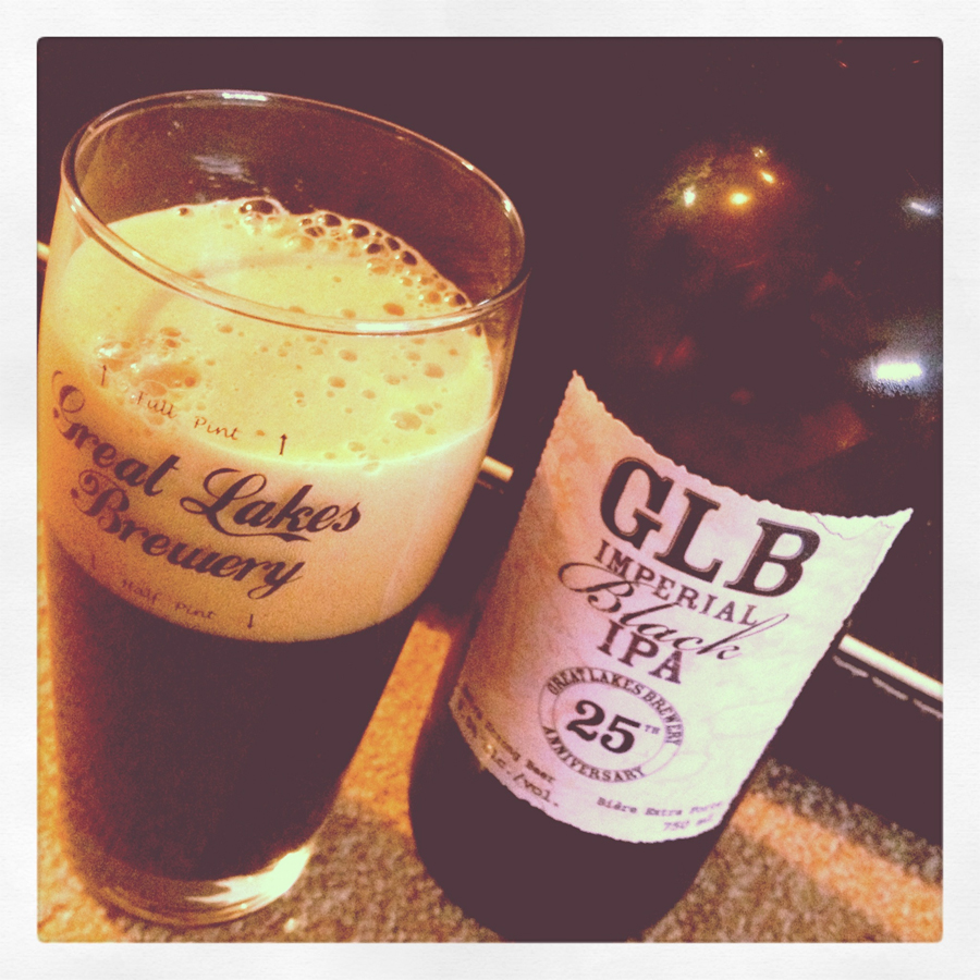 25th Anniversary Imperial Black IPA — Great Lakes Brewery