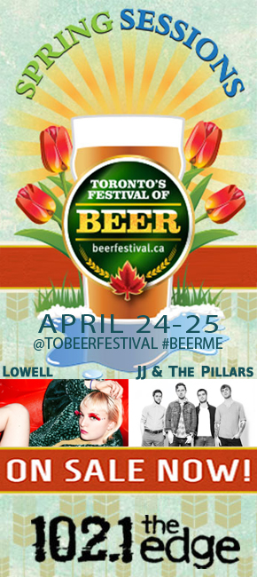 Toronto's Festival of Beer Spring Sessions, tickets now on sale!