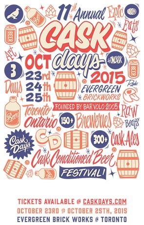 Cask Days — Tickets now on sale!